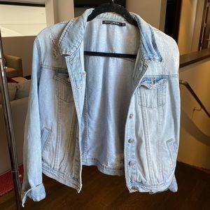 Light denim jean jacket
